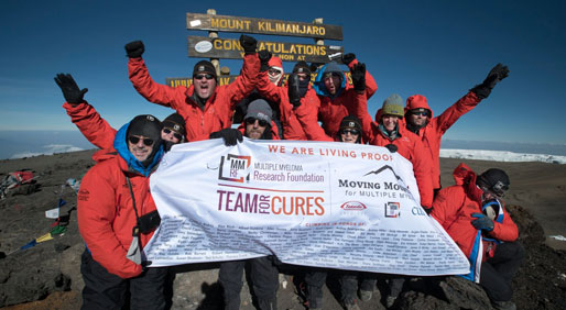 Climbing Kilimanjaro for Multiple Myeloma Research Inspired More Than Just Donations