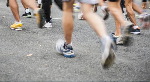 Cancer Survivor Takes on the Boston Marathon