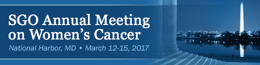 SGO Annual Meeting on Women's Cancer