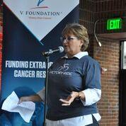 Susan Braun, CEO of the V Foundation