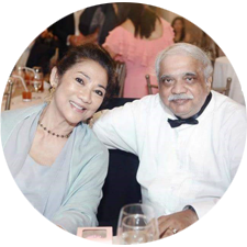 Evelyn & Sanjoy Bhattacharya